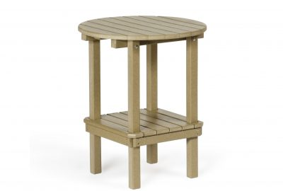 double tier table poly furniture for cabins