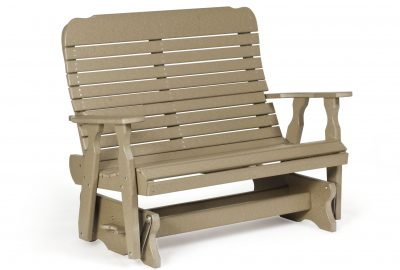 easy double glider poly furniture for cabins
