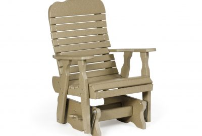 easy glider poly furniture for cabins