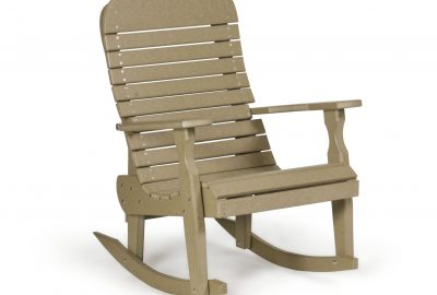 easy rocker poly furniture for cabins