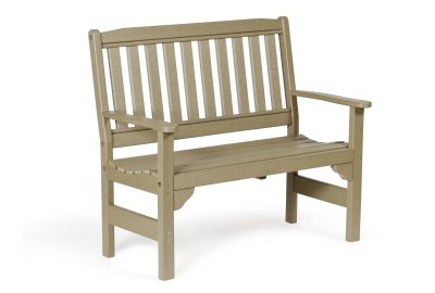 english garden bench poly furniture for cabins