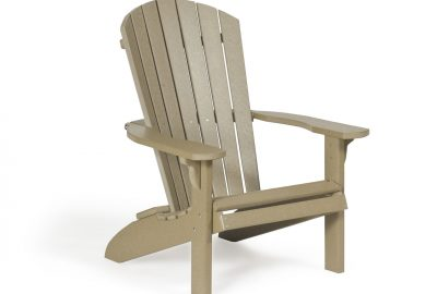fan back chair poly furniture for cabins