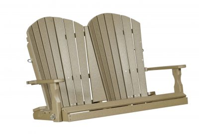 fan back swing poly furniture for cabins
