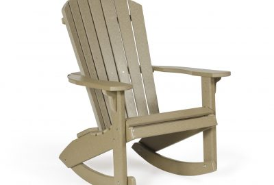 fanback rocker poly furniture for cabins