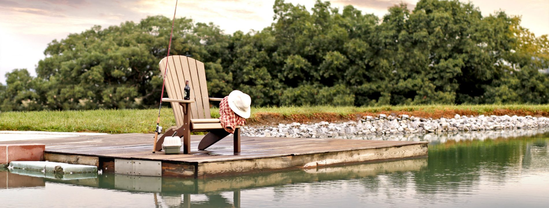 poly furniture fishing chair cabin outdoor furniture