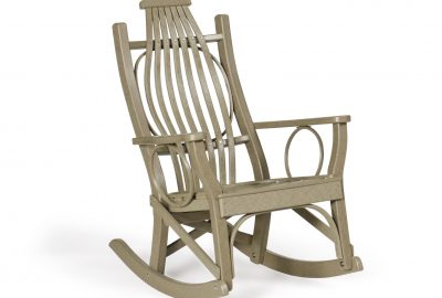 poly hickory rocker poly furniture for cabins 1