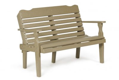 west chester bench poly furniture for cabins
