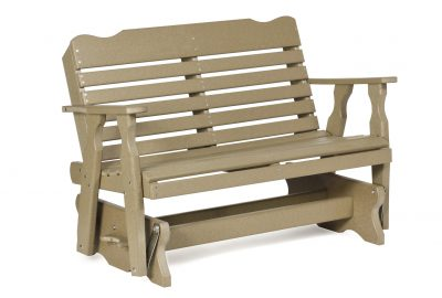 west chester double glider poly furniture for cabins