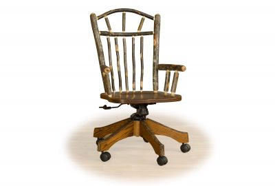 office chair log cabin furniture