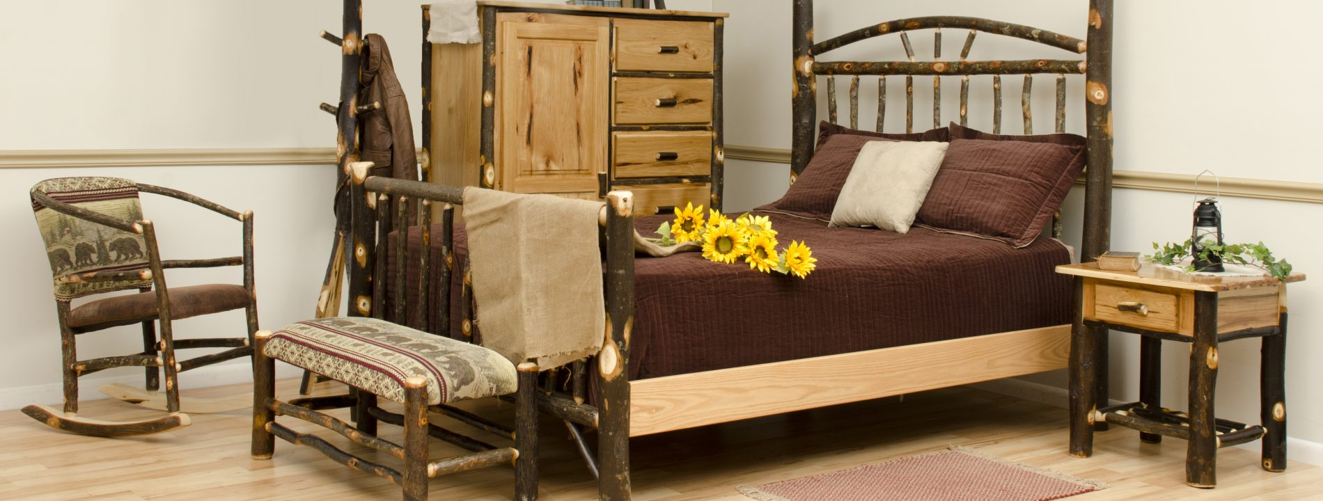rustic cabin bedroom furniture