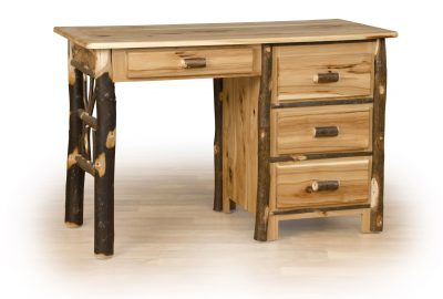 student desk log cabin furniture
