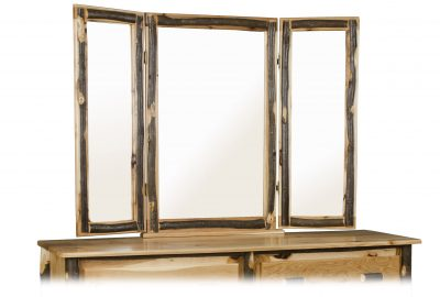 tri view mirror cabin bedroom furniture