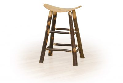 saddle stool log cabin dining room furniture