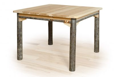 square dining table log cabin dining room furniture