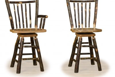 stick back bar stool log home furnishings