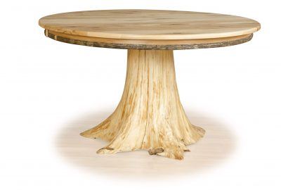 stump table log cabin dining room furniture