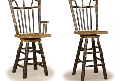 wagon wheel bar stool log home furnishings