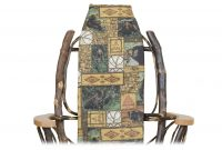 bear chair cover cabin furnishings