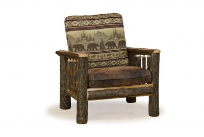 chair log cabin living room furniture