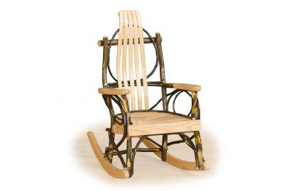 child bent wood rocker furniture for a cabin