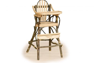 child highchair furniture for a cabin