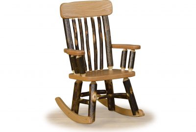 child rocking chair furniture for a cabin