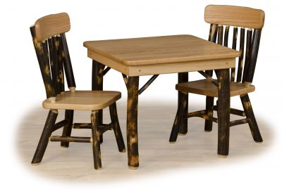 children table and chairs furniture for a cabin