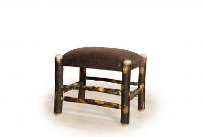 footstool log cabin living room furniture