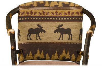 golden fabric cabin furnishings