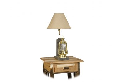 lantern lamp furniture for log cabins