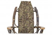 leafy chair cover cabin furnishings