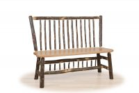stick back deacon bench cabin living room furniture