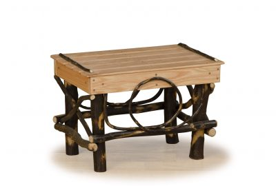 stool log cabin furniture