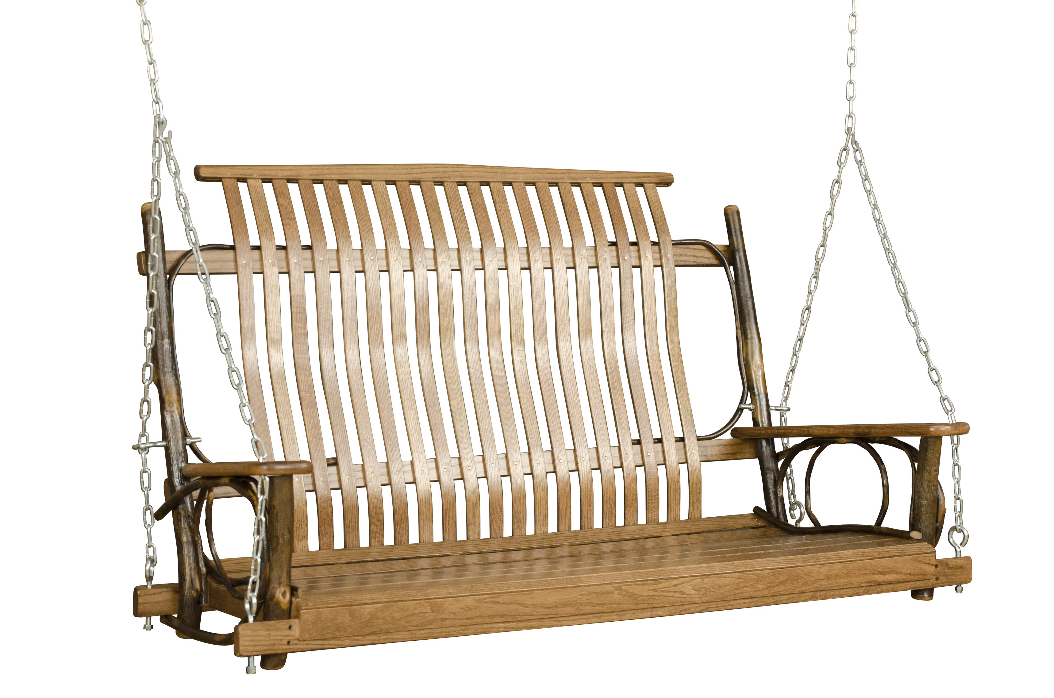 swing furniture for log homes - Zook Cabins