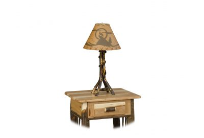 table lamp furniture for log cabins