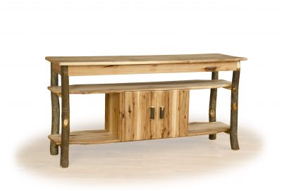tv stand log cabin furniture