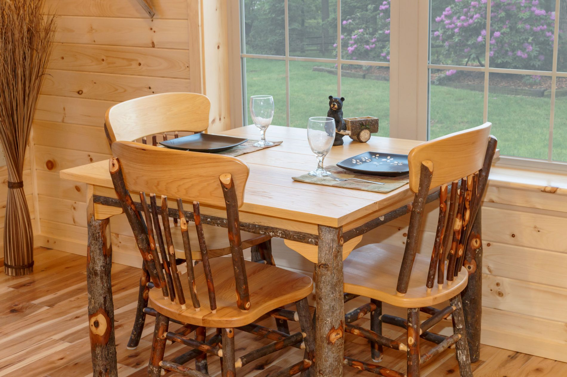 Superb Log Cabin Dining Room Furniture
