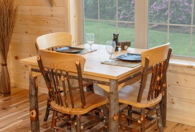 log cabin dining room furniture