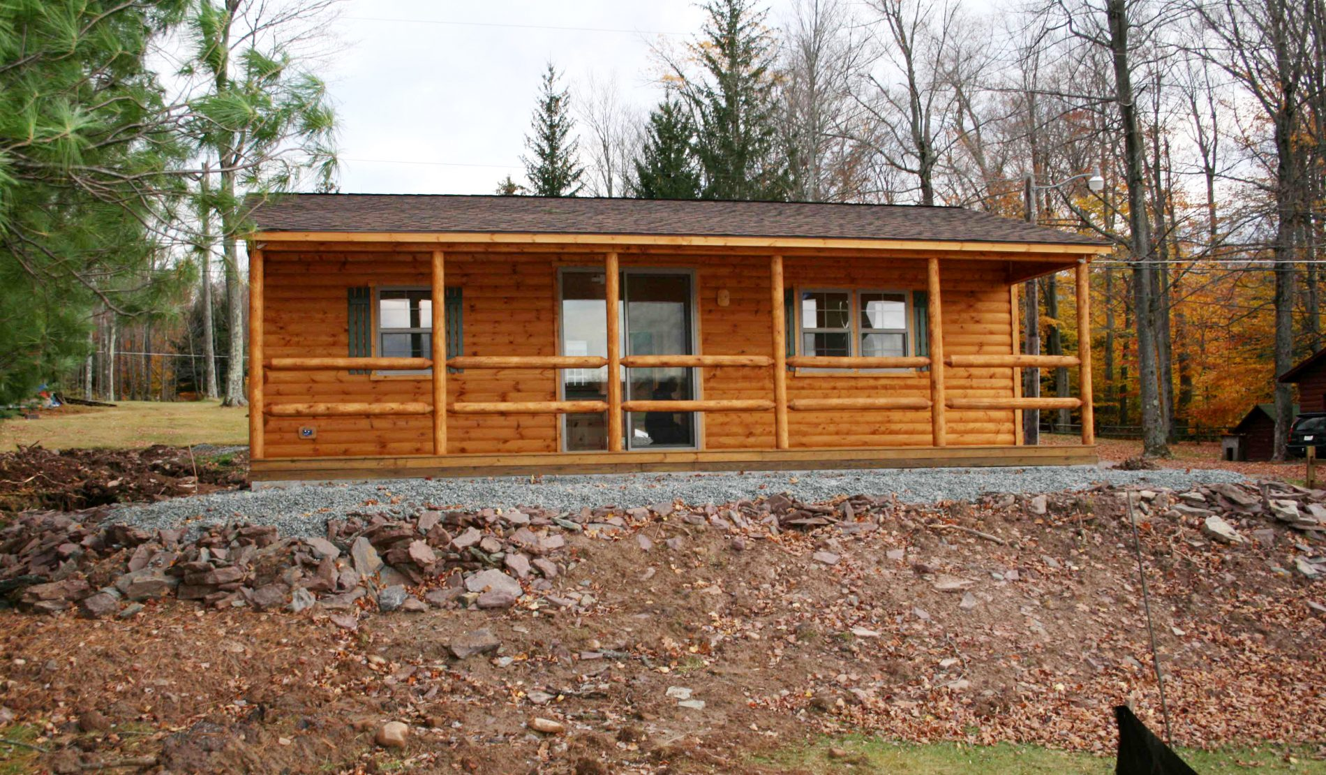 Lincoln Cabin | Attractive Small Log Cabins| 2 Bedroom Cabin