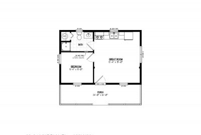 22ln901 lincoln lake cabin plans