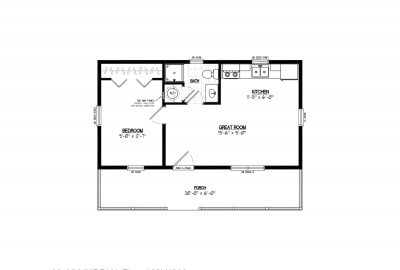 22ln902 lincoln lake cabin plans