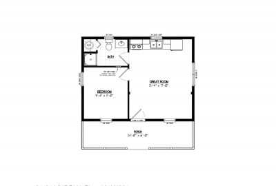 24ln901 lincoln lake cabin plans