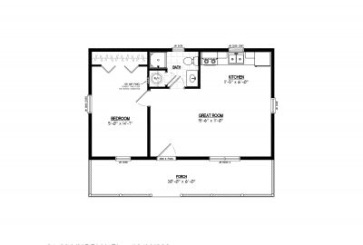 24ln902 lincoln lake cabin plans