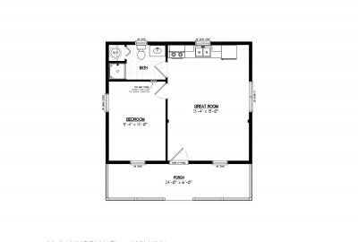 26ln901 lincoln lake cabin plans