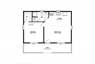 26ln902 lincoln lake cabin plans