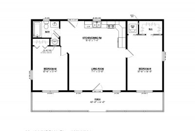 28ln904 lincoln lake cabin plans