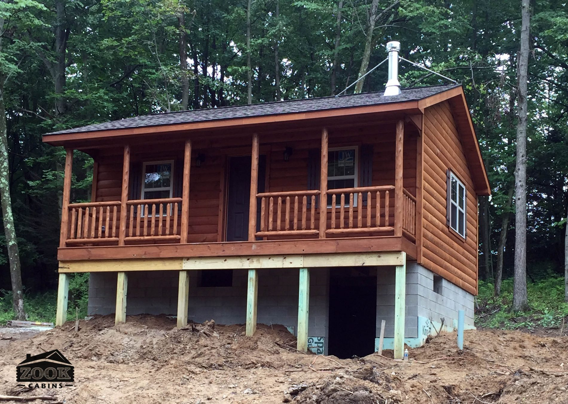 Lincoln log cabin lincoln log homes zook cabins for Log cabin packages for sale