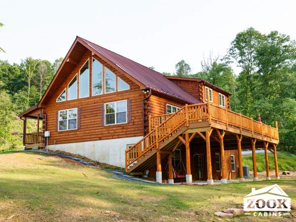 Log Cabin Homes in New Hampshire