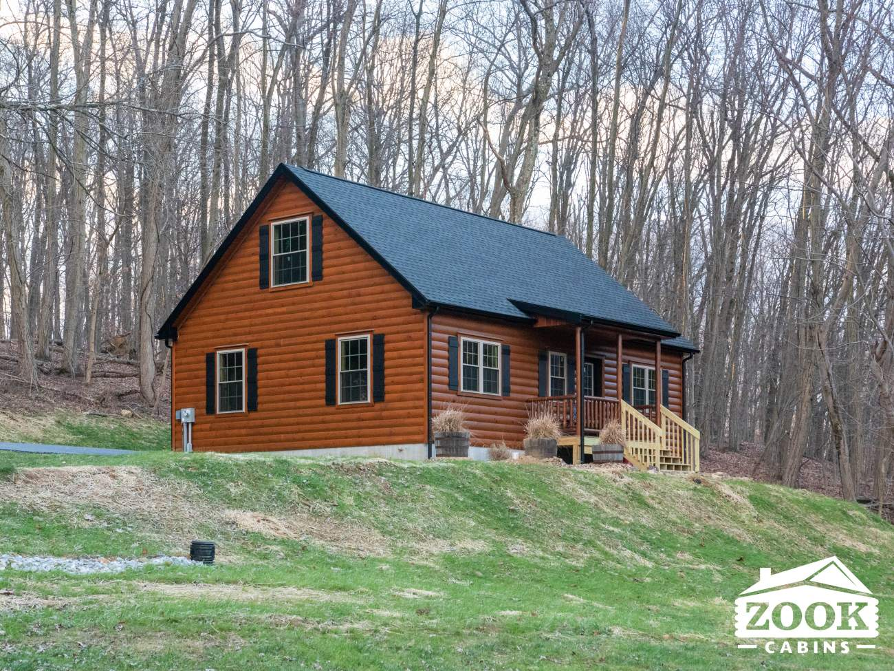 Log Cabin Homes in New Hampshire 9