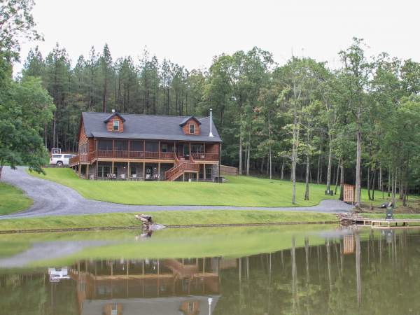 Beautiful Prefab Log Cabin in North Carolina